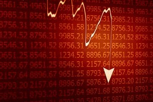 numbers-stocks-down-arrow-fall-red